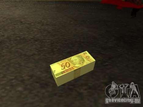 Мод бразильского деньги для GTA San Andreas