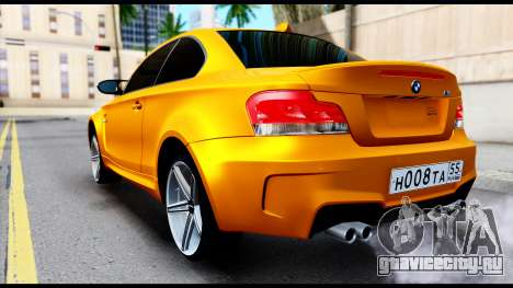 BMW M1 для GTA San Andreas вид слева