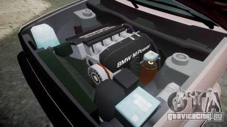 Volkswagen Golf MK2 GTi 1992 для GTA 4 вид изнутри