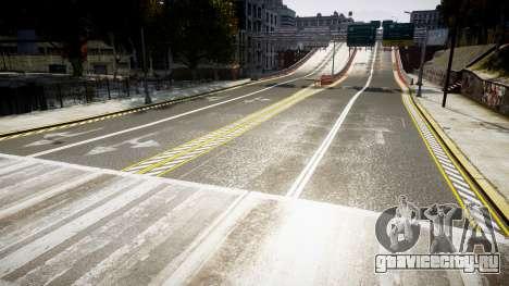 Текстуры дорог высокой чёткости 2014 v1.2 для GTA 4 третий скриншот