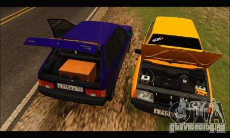 VAZ 2109 BPAN для GTA San Andreas