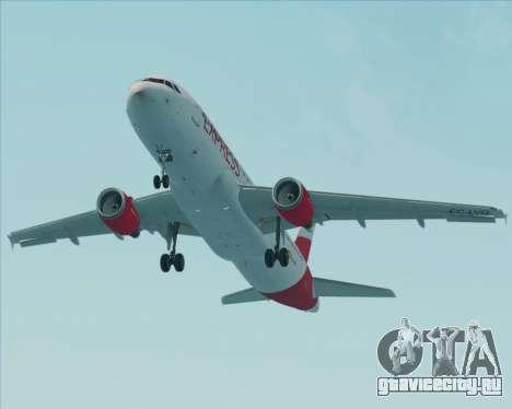 Airbus A320-200 Iberia Express для GTA San Andreas двигатель