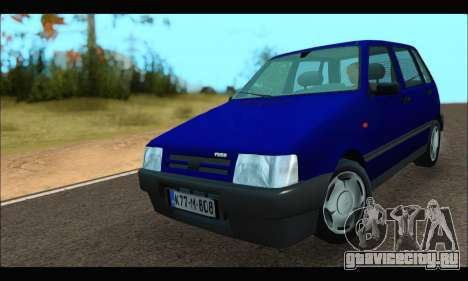 Zastava Yugo Uno для GTA San Andreas