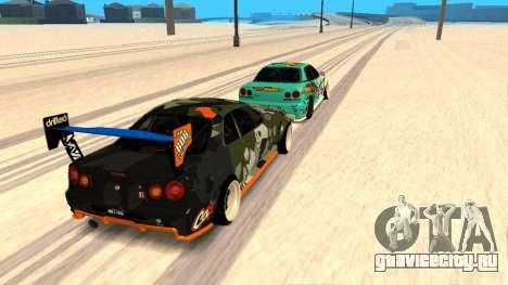 Nissan Skyline R34 FAIL CREW 2014 для GTA San Andreas
