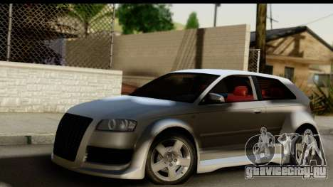 Audi A3 Tuning для GTA San Andreas
