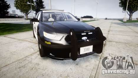 Ford Taurus 2014 County Sheriff [ELS] для GTA 4