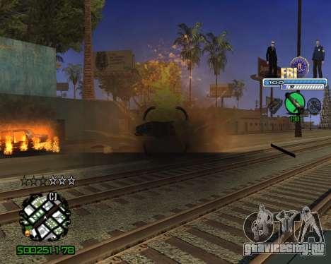 C-HUD FBI для GTA San Andreas четвёртый скриншот