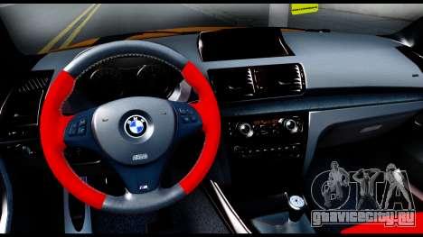 BMW M1 для GTA San Andreas вид изнутри