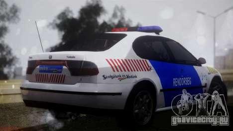 Seat Toledo 1999 Police для GTA San Andreas вид слева