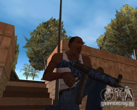 Новогодний Weapon Pack для GTA San Andreas второй скриншот