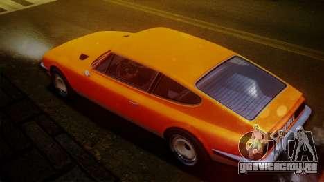 GTA 5 Lampadati Pigalle SA Plate для GTA San Andreas вид слева