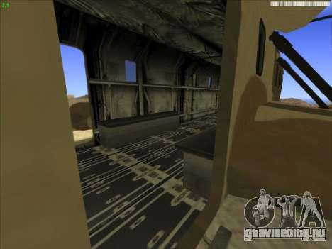 GTA 5 Cargobob для GTA San Andreas вид справа