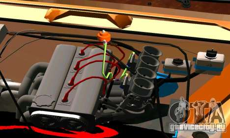 ВАЗ 2101 Ratlook v2 для GTA San Andreas вид сзади слева