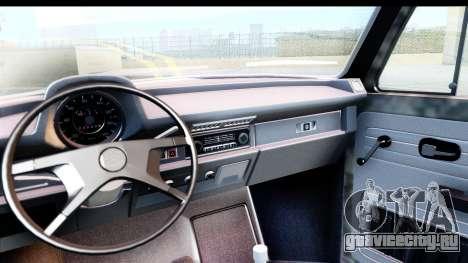 Volkswagen Beetle Vosvos 1973 для GTA San Andreas вид справа