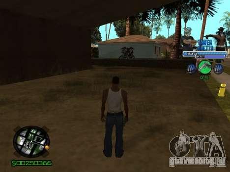 С-Hud Tawer-Ghetto v1.6 Classic для GTA San Andreas второй скриншот