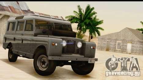 Land Rover Series IIa LWB Wagon 1962-1971 [IVF] для GTA San Andreas