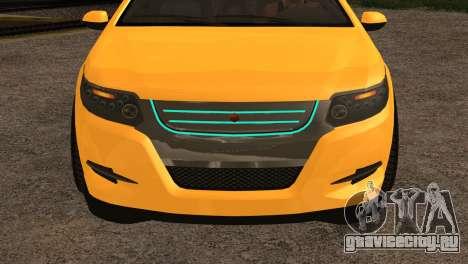 Cheval Surge 1.1 (IVF) для GTA San Andreas вид сзади слева