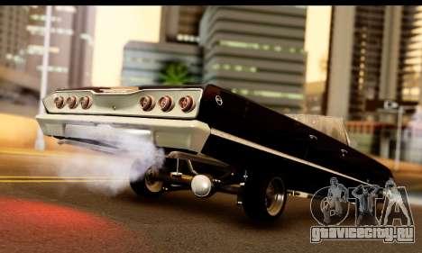 Chevrolet Impala 1963 для GTA San Andreas вид слева