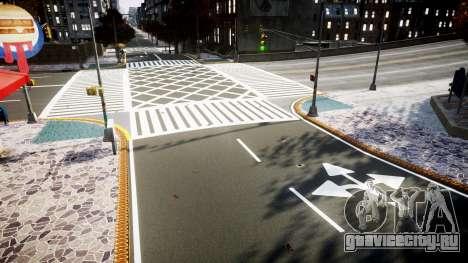 Текстуры дорог высокой чёткости 2014 v1.2 для GTA 4