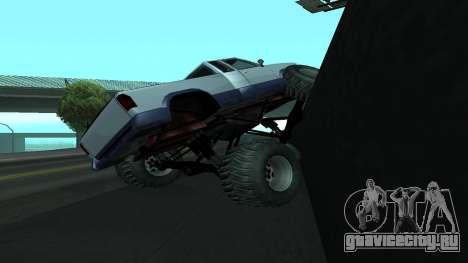 Новая физика машин v2 для GTA San Andreas четвёртый скриншот