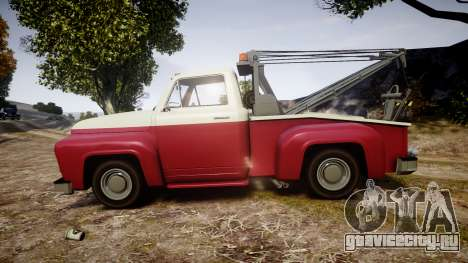Vapid Towtruck Restored stripeless tires для GTA 4 вид слева