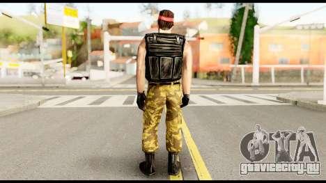 Counter Strike Skin 1 для GTA San Andreas второй скриншот