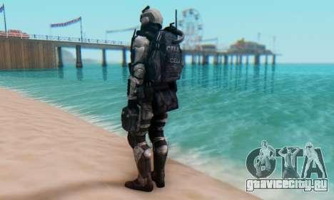 C.E.L.L. Soldier (Crysis 2) для GTA San Andreas третий скриншот