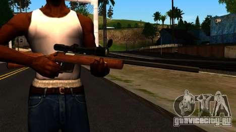 Rifle from GTA 4 для GTA San Andreas третий скриншот