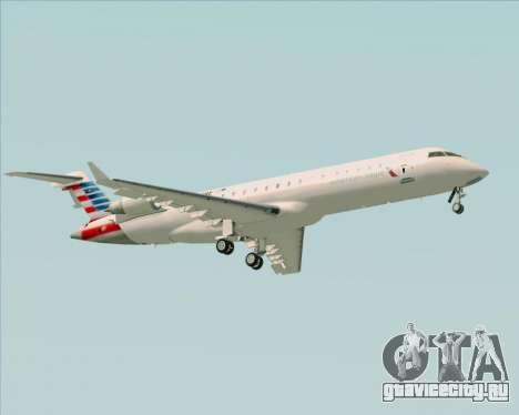 Bombardier CRJ700 American Eagle Airlines для GTA San Andreas вид справа