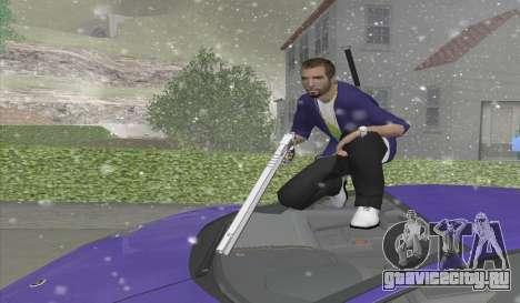 Длинный Desert Eagle для GTA San Andreas второй скриншот