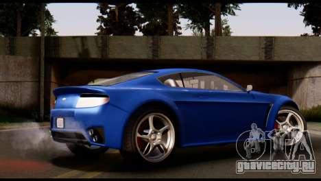 GTA 5 Dewbauchee Rapid GT Coupe [HQLM] для GTA San Andreas вид слева