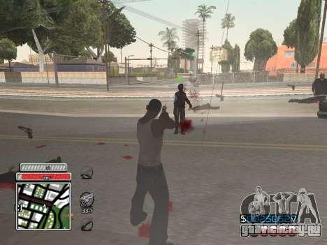 C-HUD Unique v4.1 для GTA San Andreas пятый скриншот