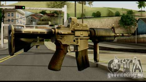 SOPMOD from Metal Gear Solid v2 для GTA San Andreas второй скриншот