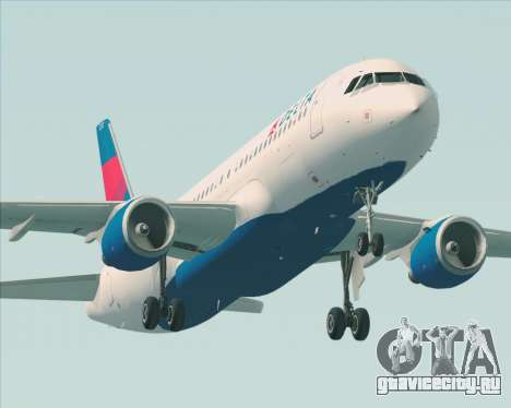 Airbus  A320-200 Delta Airlines для GTA San Andreas колёса