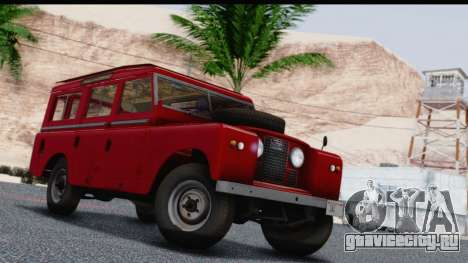 Land Rover Series IIa LWB Wagon 1962-1971 для GTA San Andreas