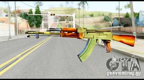 AK47 from Metal Gear Solid для GTA San Andreas