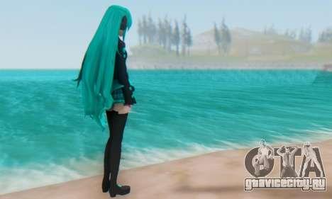 Miku Hatsune MMD для GTA San Andreas четвёртый скриншот