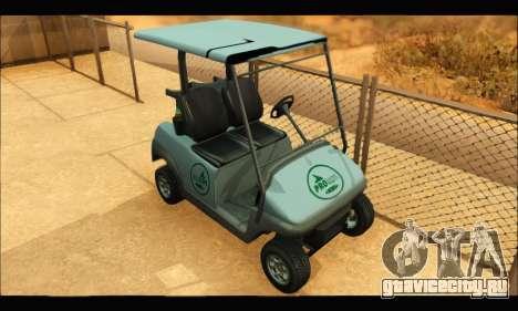Caddy (GTA V) для GTA San Andreas