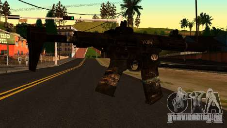 HoneyBadger from CoD Ghosts v2 для GTA San Andreas второй скриншот
