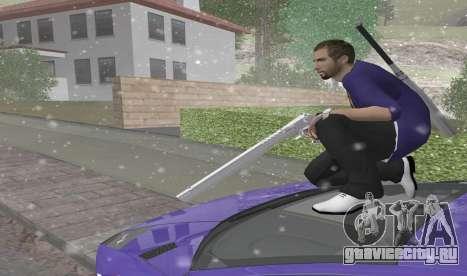 Длинный Desert Eagle для GTA San Andreas третий скриншот