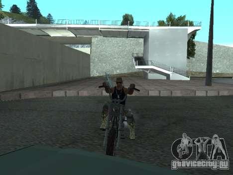 Angel GTA 4 TLaD для GTA San Andreas вид слева