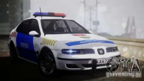 Seat Toledo 1999 Police для GTA San Andreas