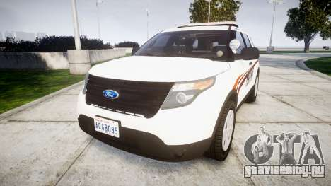Ford Explorer 2013 Police Interceptor [ELS] для GTA 4