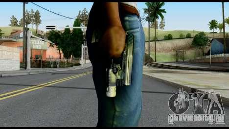 USP from Metal Gear Solid для GTA San Andreas третий скриншот