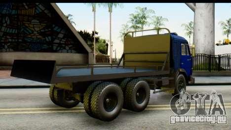 КамАЗ 65115 Эвакуатор ДПС для GTA San Andreas вид слева