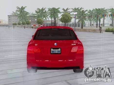 Saab 95 для GTA San Andreas вид справа
