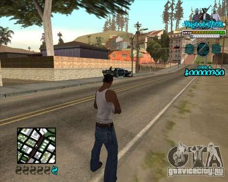 C-HUD for Aztecas для GTA San Andreas