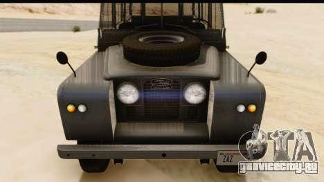 Land Rover Series IIa LWB Wagon 1962-1971 [IVF] для GTA San Andreas вид справа