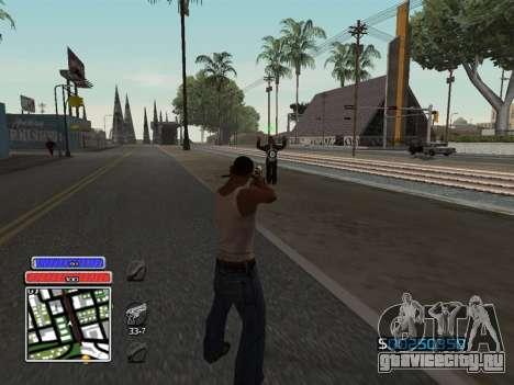 C-HUD Unique v4.1 для GTA San Andreas второй скриншот