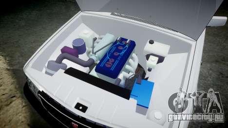 ГАЗ 31022 rims1 для GTA 4 вид сзади